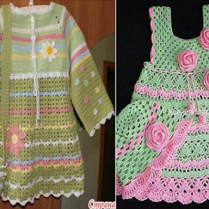 Love crochet? I loved these two models in crochet. See. Kisses.