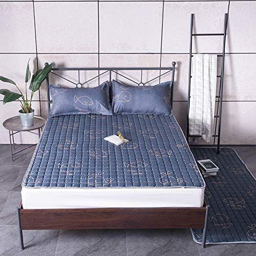 Cooling Tatami Sleeping Mattress Topper Japanese Floor Futon Mat Soft Thick Mattress Pad Foldable Bed Roll Cushion Foldable Bed Mattress Pad Futon Living Room