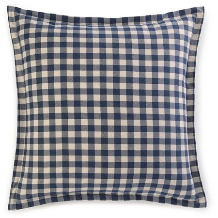 Navy Kingston Euro Pillow Sham Set - Eddie Bauer® : Target