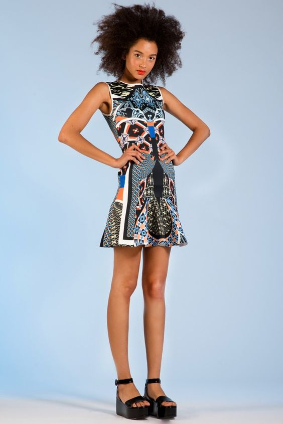 Ethnic inspired Digital Prints by Clover Canyon   Resort 2014 Collection