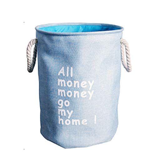 Lxjymx Lxjymxmultifunctional Storage Bag Linen Art Laundry Basket