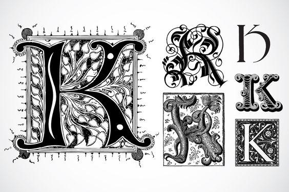 Fancy Letter K Designs | The Letter K Fancy Fancy letter k ...