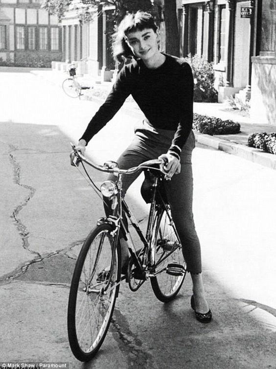 The original: Audrey Hepburn on the set of Sabrina in 1954... http://dailym.ai/Rn0NeL#i-5cbe0d3d
