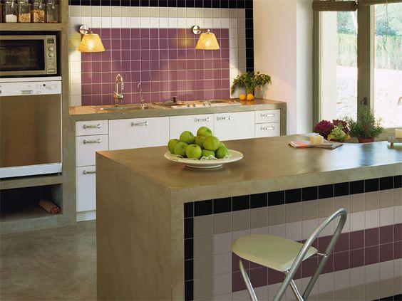 Diseño decoración ambientes cerámicos para cocinas y baños ...