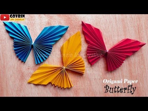 Cute Easy Butterfly Diy Cara Mudah Membuat Kupu Kupu Origami
