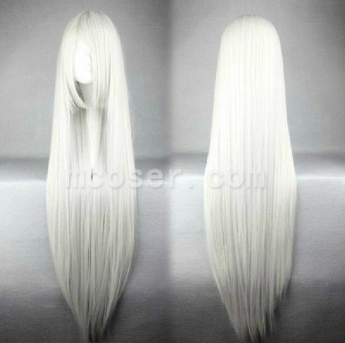 9 Colors 80cm 100cm Heat Resistant Long Bangs Long Straight Cosplay Anime Wigs Anime Wigs Hair Color For Black Hair Long Hair Styles