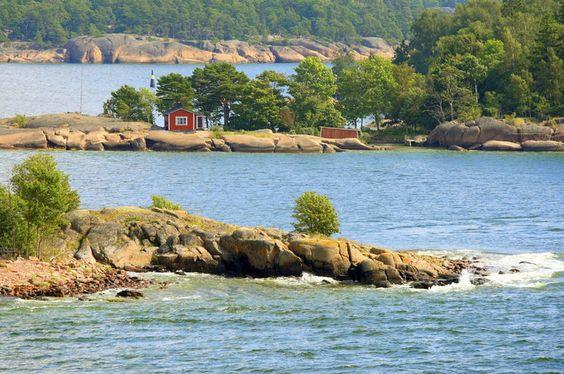 Wyspy Alandzkie, Finlandia