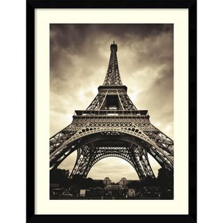 @Overstock.com - Marcin Stawiarz 'Eiffel Tower' Framed Art Print - Savor the beauty and wonder of Paris inside your own home with this lovely framed art print of the Eiffel Tower. It piques the interest of guests. It perfectly accentuates walls of both modern and classic interiors with stylish, artistic designs.   http://www.overstock.com/Home-Garden/Marcin-Stawiarz-Eiffel-Tower-Framed-Art-Print/5561993/product.html?CID=214117 $175.49