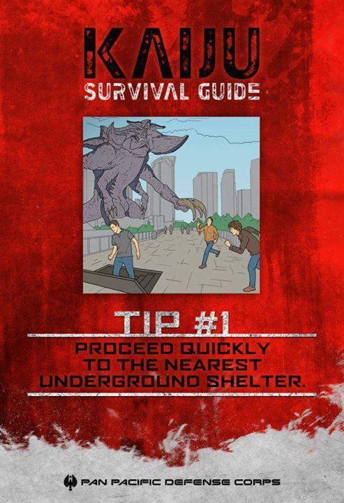 #PacificRimIT #PacificRim - Guida per sopravvivere ai #Kaiju, Consiglio di sopravvivenza #1: raggiungere velocemente il rifugio sotterraneo più vicino.