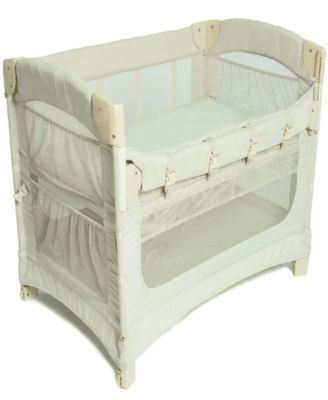 Ideal Ezee 3 In1 Co Sleeper Tan Beige Bedside Bassinet Co
