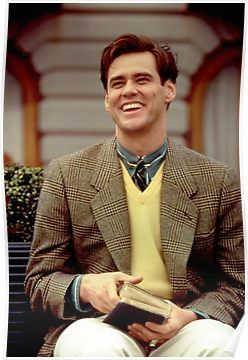 Jim Carrey Poster By Partyhype In 2021 Jim Carrey The Truman Show Jim Carrey Movies