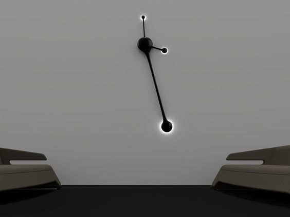 Pendulum Wall Clock by Nuno Teixeira