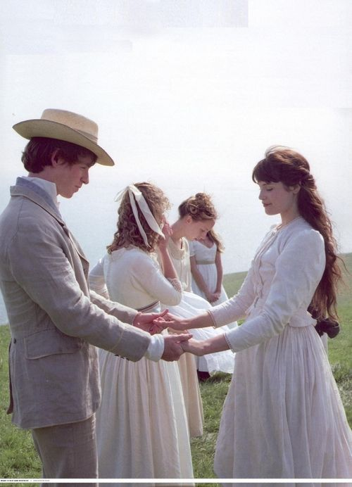 Eddie Redmayne as Angel Clare and Gemma Arterton as Tess Durbeyfield in Tess of the D'Urbervilles