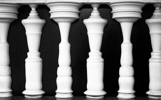 Optische illusies en gezichtsbedrog: Optische illusie kunst