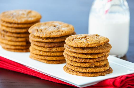 """Double Ginger Cookies- Pin this recipe from @ChallengeButter 's """"Pin..."""
