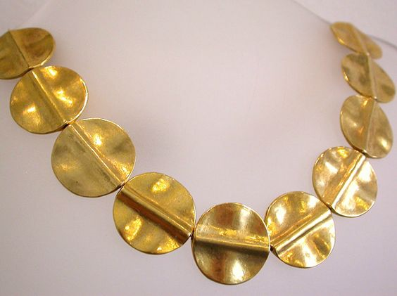 Amy Draper, Large Disk Necklace