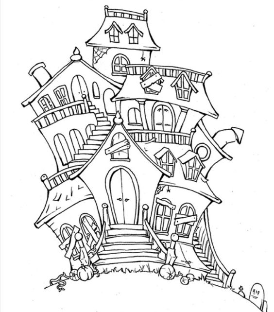 H is for halloween coloring pages ~ Halloween Printable | • h a l l o w e e n • | Pinterest ...