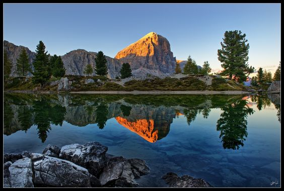 Tofana di Rozes - Dolomitic Sunset by Cristian P on 500px