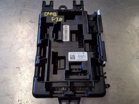Bmw i f  turbo sam fuse box