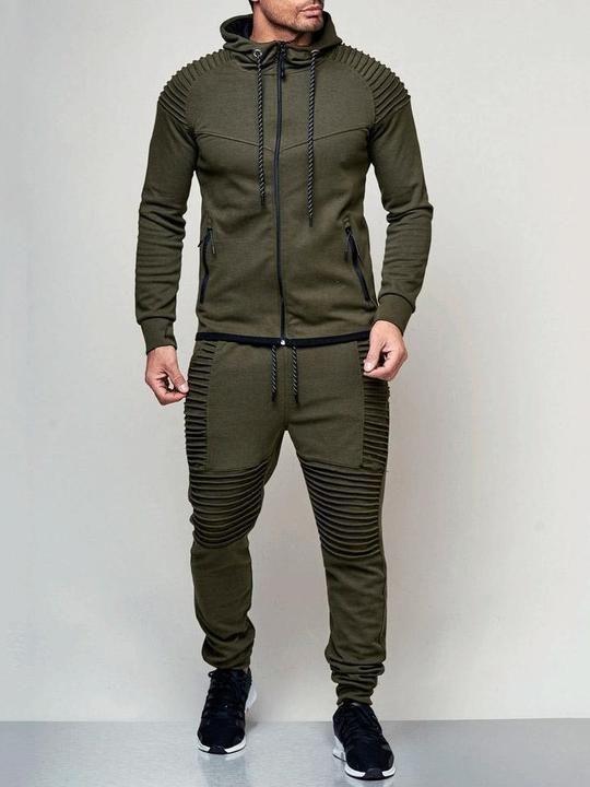 Conjunto De Dos Piezas Mens Sportswear Mens Outfits Gym Outfit Men