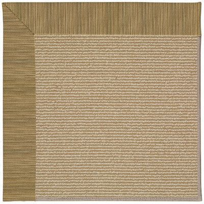 Capel Zoe Machine Tufted Green Area Rug Rug Size: Round 12' x 12'