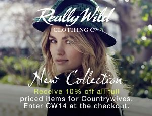 10% off the beautifully English tailored collection - Town & Country (from Really Wild)