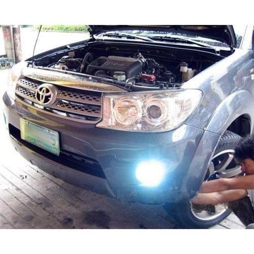 Blinglights 2009 2010 2011 2012 Toyota Fortuner Halo Fog Lamp Angel Eye Driving Light Kit White Toyota Fog Lamps Angel Eyes