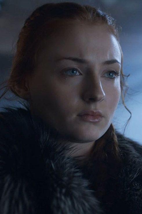 """Os atores do elenco de """"Game of Thrones"""" no primeiro e no último episódio - - Primeira Aparição: """"Winter is Coming"""" (Episódio 1, Temporada 1) Última aparição: """"The Winds of Winter"""" (Episódio 10, Temporada 6) - Sansa Stark"""