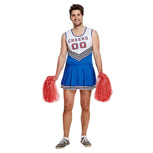 Mens Red Beer Leader Dress Fancy Dress Funny Stag Party Costume