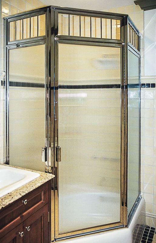 Brass Framed Shower Enclosures Image Gallery Framed Shower Door