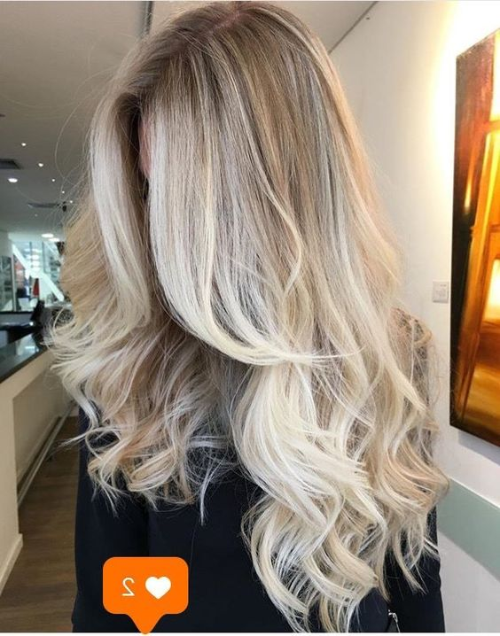 50 Long Blonde Hair Color Ideas in 2019, Many of us wondered that at some point we would look like athlete blonde tresses. Don't worry here we have prepared a list of yellow color ideas to he..., Long Blonde Hair Color