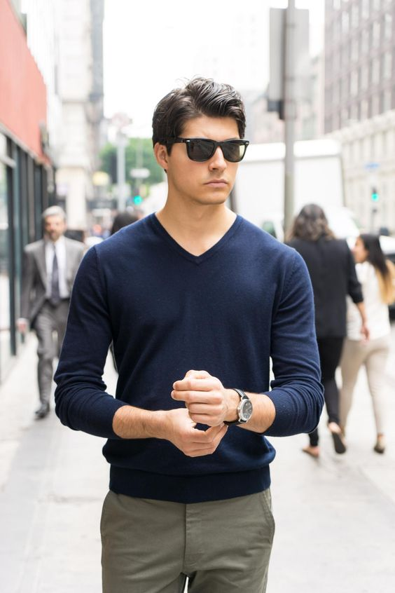 Nothing's quite like the sleek, masculine look of Cotton Cashmere.