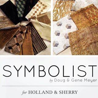 Doug & Gene Meyer SYMBOLIST rug collection for Holland & Sherry