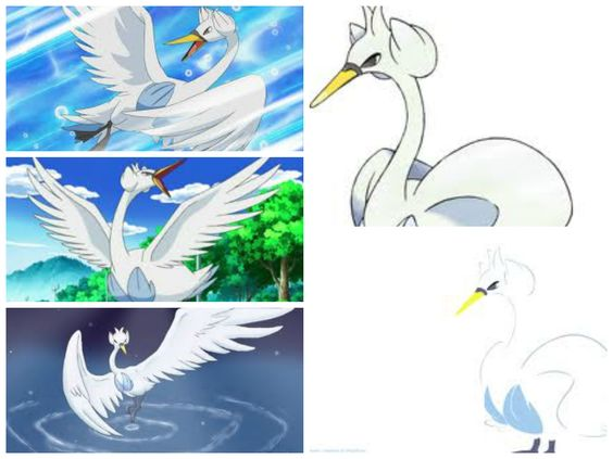 Swanna(White Bird Pokémon)