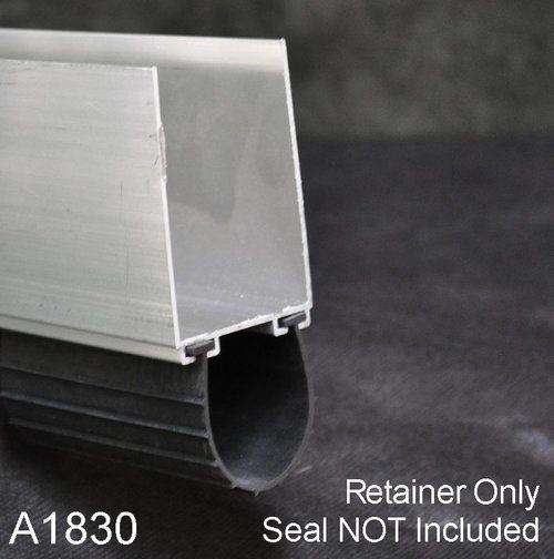 Aluminum Bottom Seal Retainer 1 3 4 X 3 U Shaped A1830 By The Foot In 2020 Garage Door Bottom Seal Garage Door Weather Seal U Shape