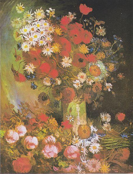 File:Van Gogh - Vase mit Mohn- und Kornblumen, Pfingstrosen und Chrysanthemen.jpeg