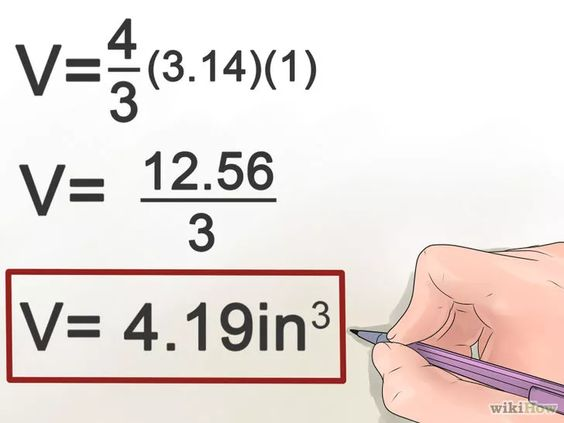 Imagen titulada Calculate the Volume of a Sphere Step 5
