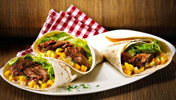 Mexi Burritos | Opskrifter med Pulled Pork | Tulip Slow Cooked