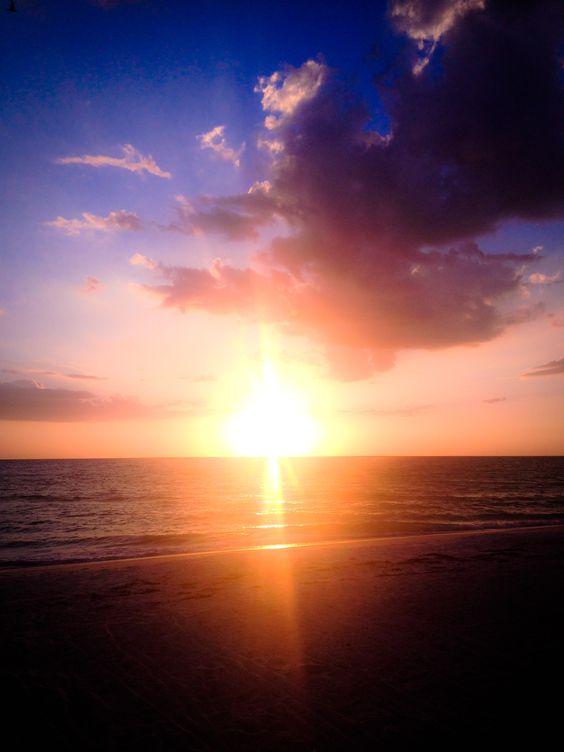 Sunset on Vacation