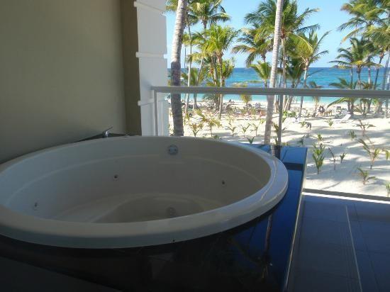 hotel riu palace bavaro balcony voyage au bavaro punta. Black Bedroom Furniture Sets. Home Design Ideas