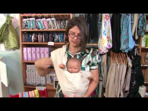 How to Carry a Newborn in a Pouch Sling