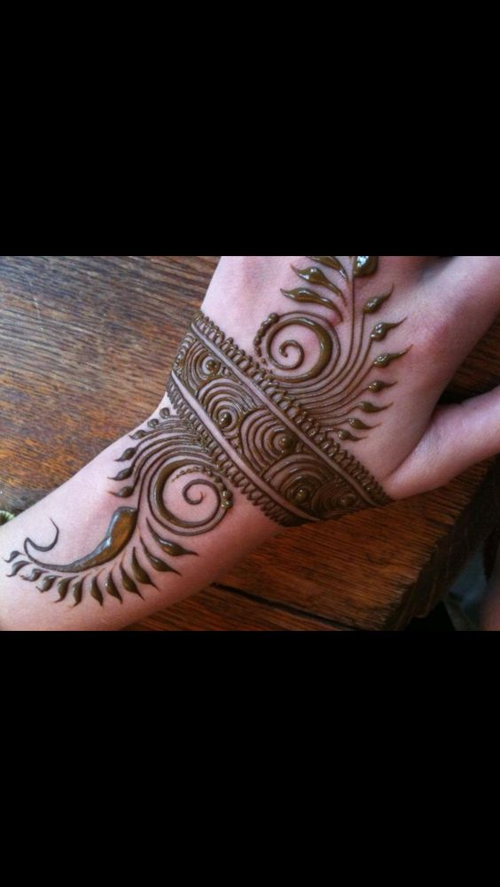 Mehndi Designs For Upper Hands : Mehendi henna hand design tattoos pinterest