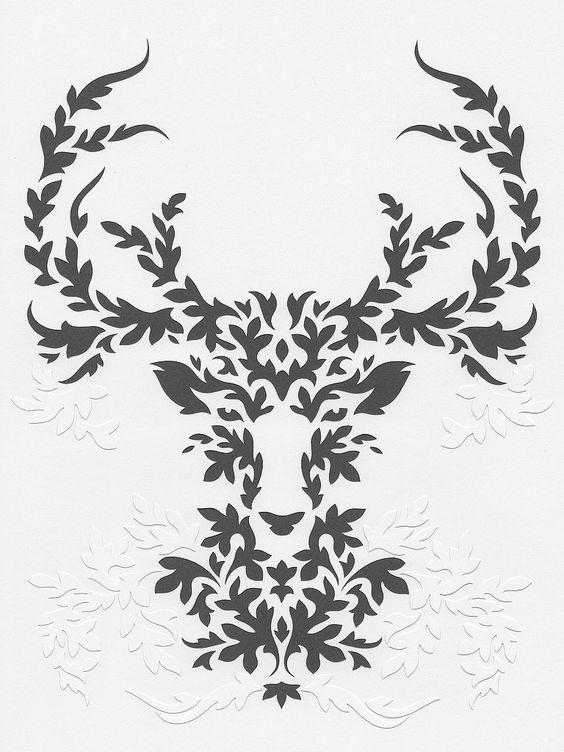 papercut poster ... beautiful design