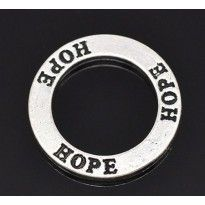 Text rings 10 2x HOPE