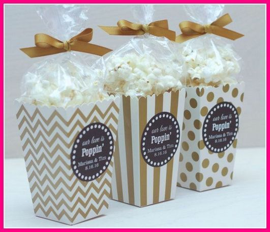 Wedding Favors How Important Are They How Much Do We Spend For Wedding Favors What Is The Filipino Candy Wedding Favors Custom Popcorn Boxes Popcorn Wedding