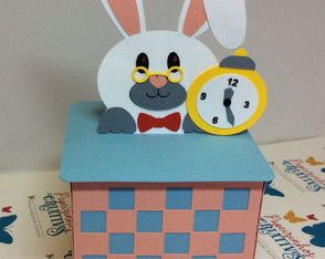 Caixa coelho Alice