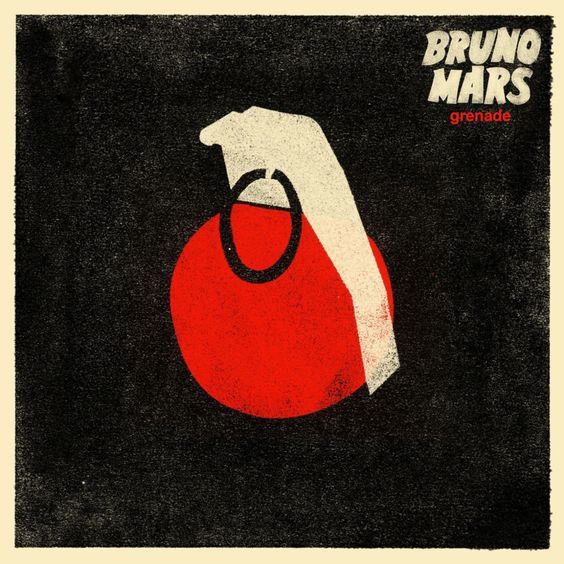 Bruno Mars – Grenade (single cover art)