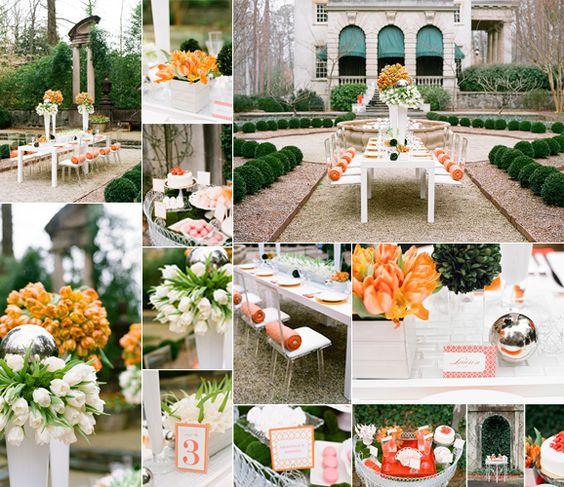 #casamento #flores #tulipas #laranja