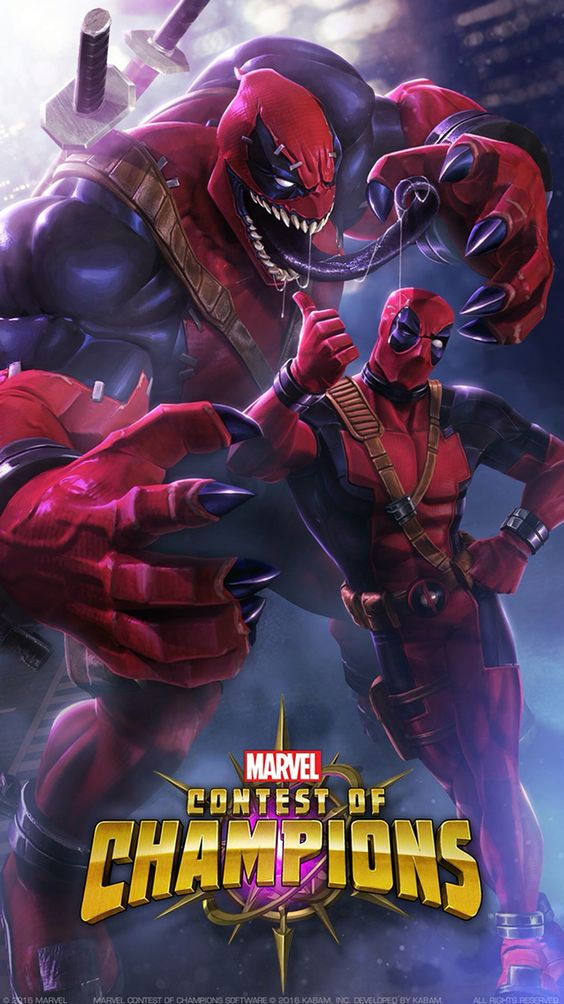 Dead Pool And Venom Download Free Contest Of Champion On The Apps
