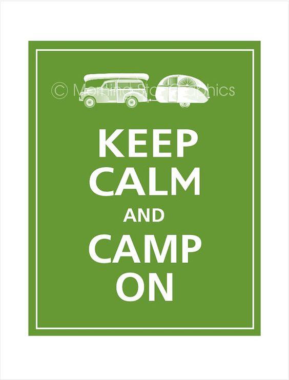 camp on
